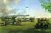 Frank Wootton: April Morning, Sopwith Camel