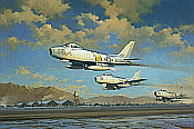 Robert Watts: Hunting Party - F-86 Sabre