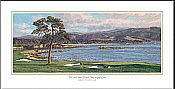 Pebble Beach Golf LInks 18th