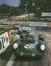 Michael Turner: Whistling through the Esses, Rover-BRM, Le Mans 1963